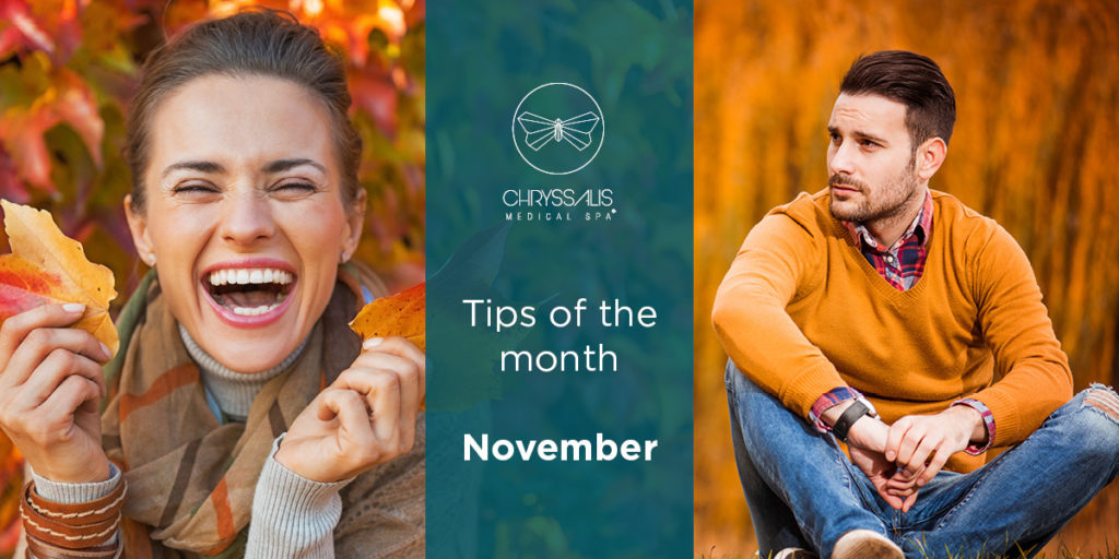 10 tips ομορφιάς για το Νοέμβριο