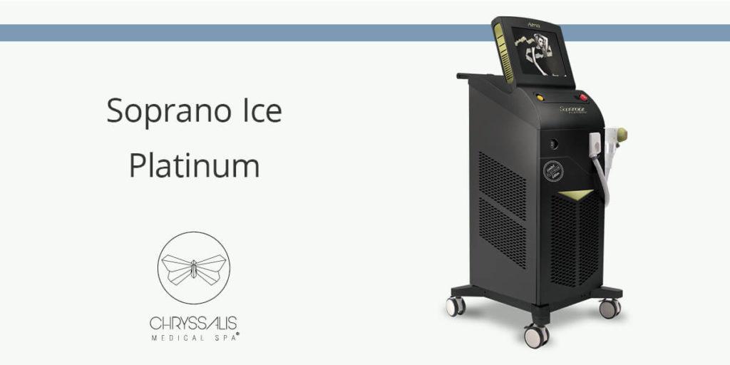 Soprano Ice Platinum Αποτρίχωση