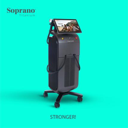Soprano Titanium - The art of smooth skin